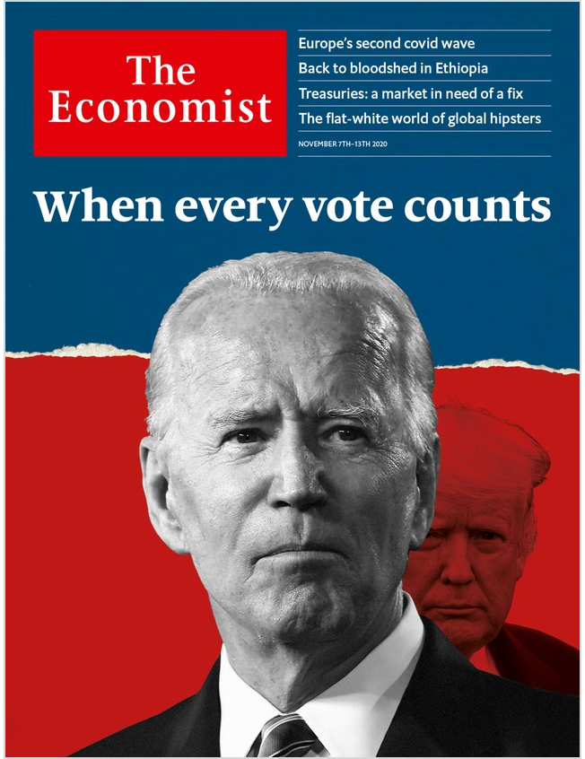 The Economist in Print OR Audio: November 7th, 2020