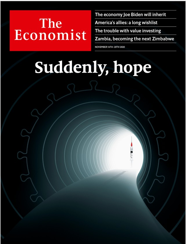 The Economist in Print OR Audio: November 14th, 2020