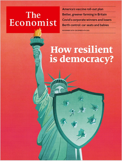 The Economist in Print OR Audio: November 28th, 2020