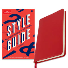 The Economist Notebook & Style Guide Bundle