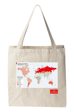 Tote bag: Drinking habits (Natural)