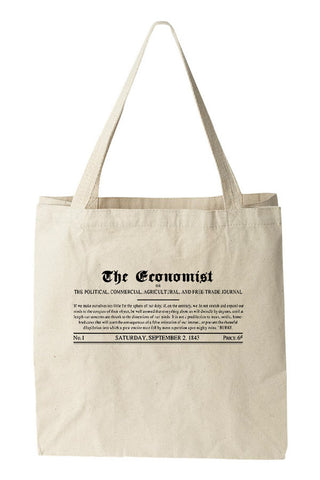 Tote bag: 1843 Economist Masthead (Natural)
