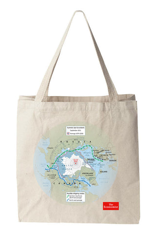 Tote bag: Outsiders in the Arctic (Natural)
