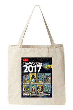 Tote bag: The World in 2017