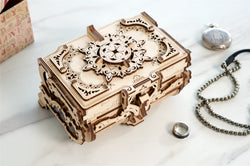 3D Mechanical Puzzle Antique Box