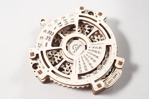 3D Mechanical Puzzle Date Navigator Model
