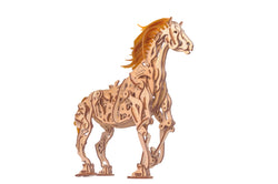 3D Mechanical Puzzle Horse Mechanoid