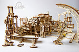 3D Mechanical Puzzle Mechanical Town Series Robot Factory
