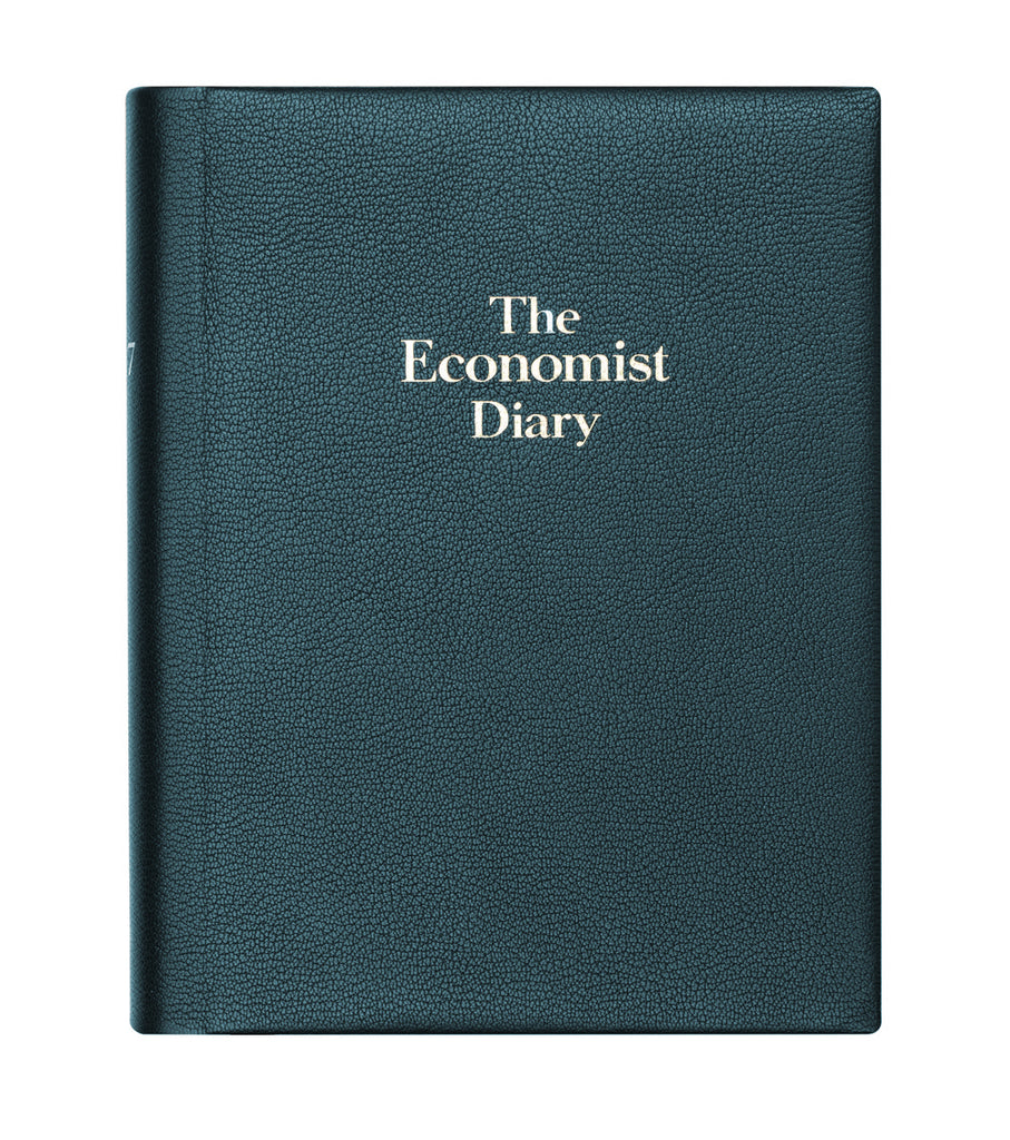 56405eafe The Economist 2020 Page-a-day Desk Diary - Blue – The Economist Store   Economist  Diaries