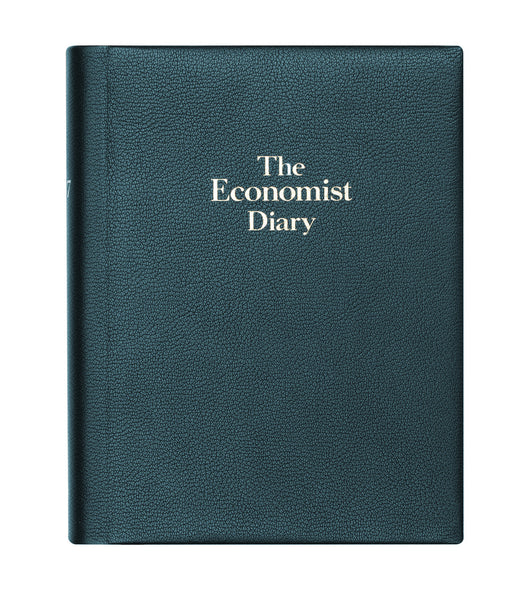 The Economist 2020 Page-a-day Desk Diary - Blue
