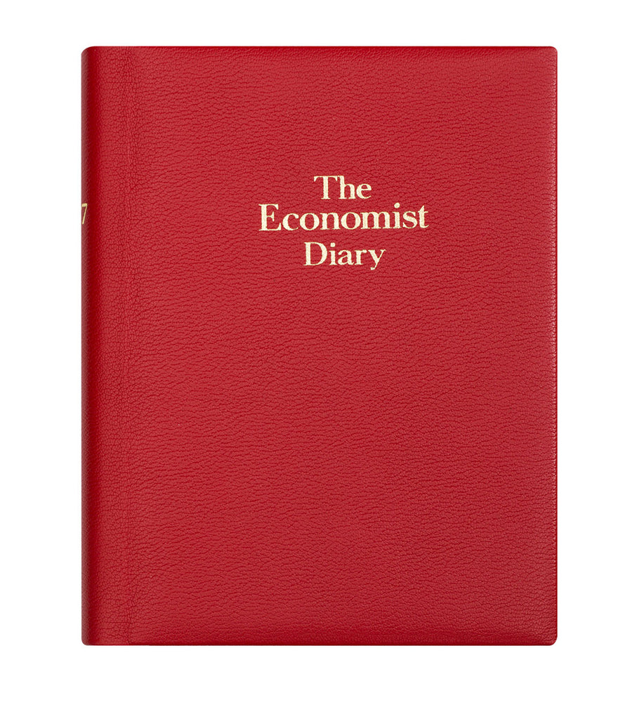 541dd8359 The Economist 2020 Page-a-day Desk Diary - Red – The Economist Store   Economist  Diaries