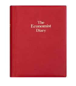 The Economist 202 Desk Diary - Red