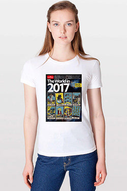 Women's T-Shirt: The World in 2017