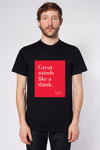 Men's T-Shirt: Great minds like a think