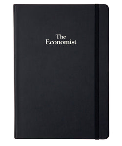 The Economist A5 Soft Touch Notebook