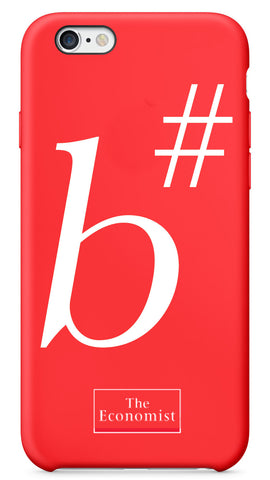 The Economist I-Phone Case: B Sharp #