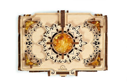 3D Mechanical Puzzle Amber Box