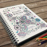 Personalized Creative Adult Coloring Book (Travel Size)