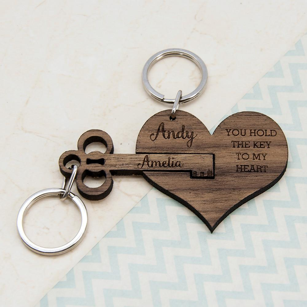 You Hold The Key To My Heart Keyring Set Of Two The Economist