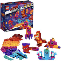 LEGO Movie 70825 Childrens Toy Queen Watevras Build Whatever Box