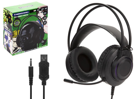 Pro Gaming Headset with LED Lights