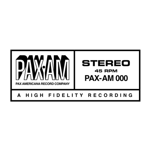 PaxAm Embroidered Patch (White)