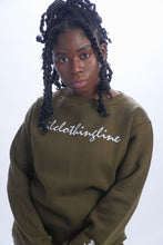 Load image into Gallery viewer, Olive Green Sweater Set