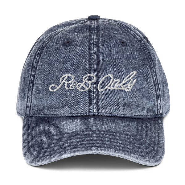 R&B ONLY VINTAGE CAP