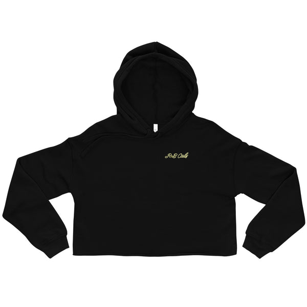 R&B ONLY CROPPED HOODIE