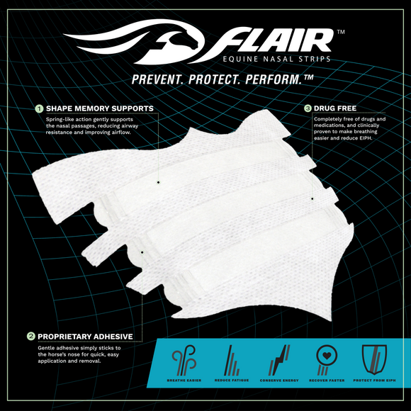 Flair Strips: 6 pack