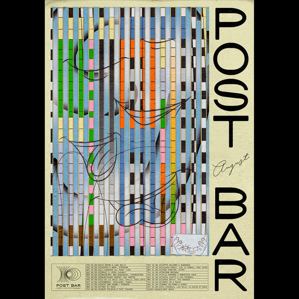 Post Bar Poster - August 2019