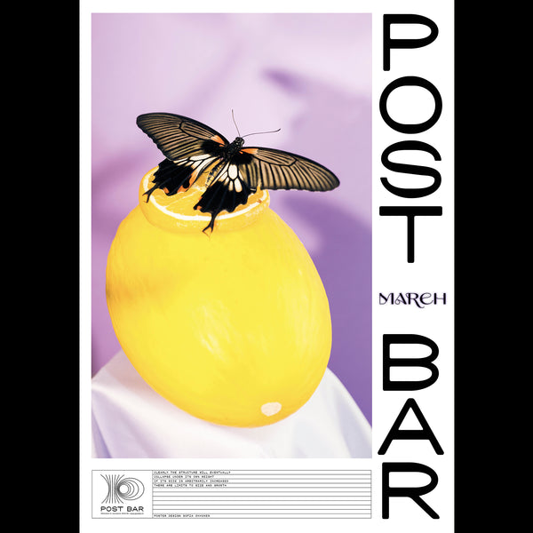 Post Bar Poster - March 2021