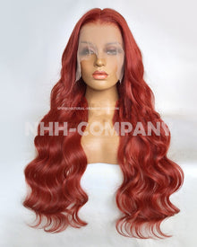 26 Inch 180% Density  Wavy Lace Front Wig