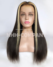 18 Inch 150% Density Lace Front Wig