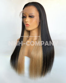 20 Inch Pre-plucked Hairline T Frontal Wig
