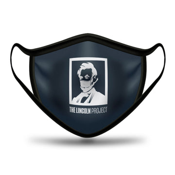 Lincoln Project Logo Face Mask