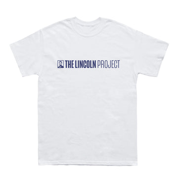 Lincoln Project White T-Shirt
