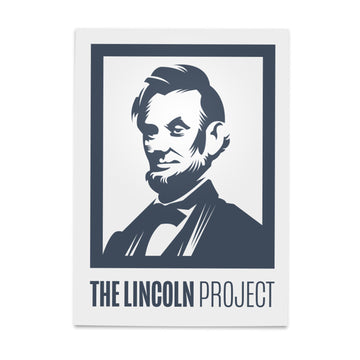 Lincoln Project Logo Poster