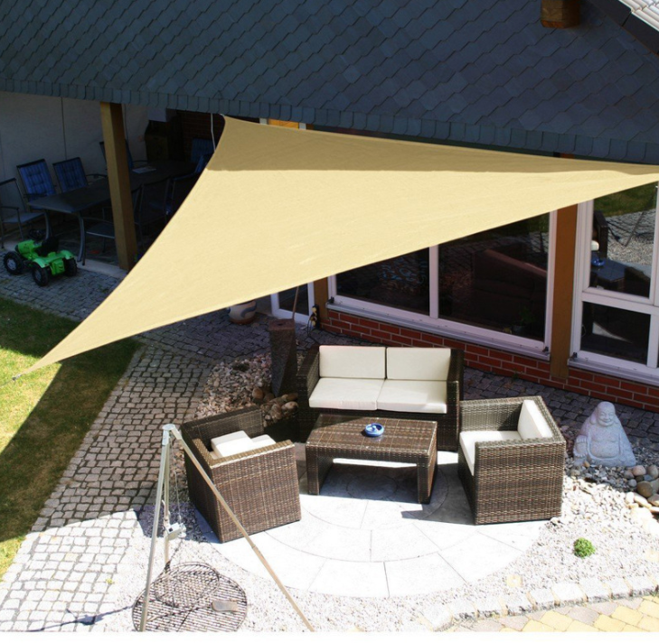 Outdoor Sun Shelter Waterproof Triangle Tent