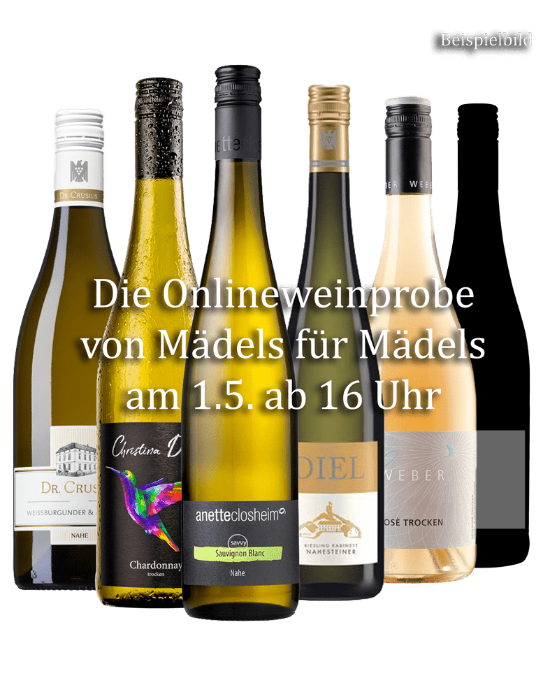 Onlineweinprobe - Prickeln - Plaudern - Party