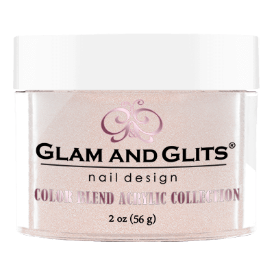 Glam and Glits Blend Acrylic Nail Color Powder - BL3016 - NUTS FOR YOU BL3016