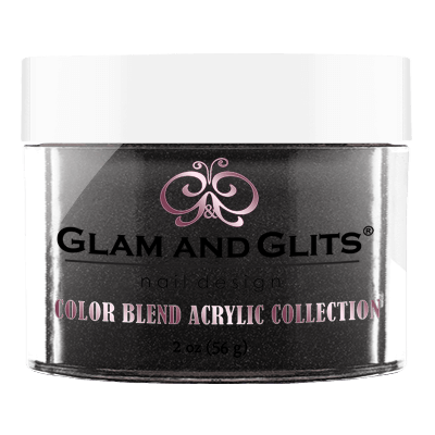 Glam and Glits Blend Acrylic Nail Color Powder - BL3048 - BLACK MAIL BL3048