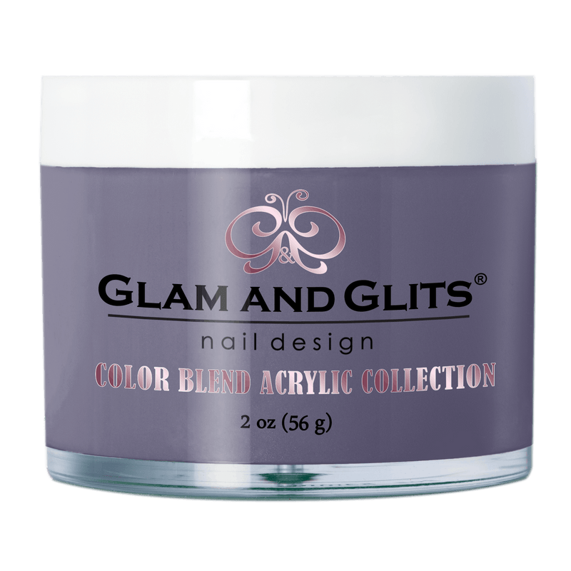 Glam and Glits Blend Acrylic Nail Color Powder - BL3108 PERRY TWINKLE BL3108