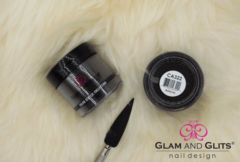 Glam and Glits Color Acrylic Nail Powder - CAC322 MARILYN CAC322