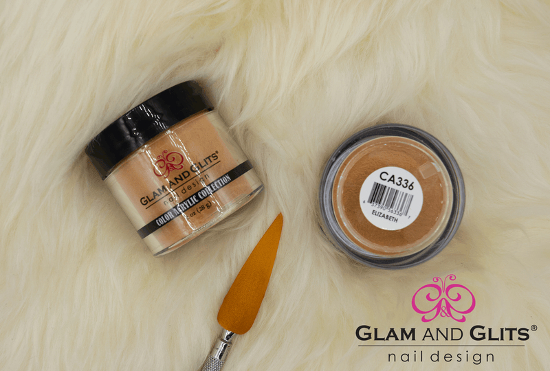 Glam and Glits Color Acrylic Nail Powder - CAC336 ELIZABETH CAC336
