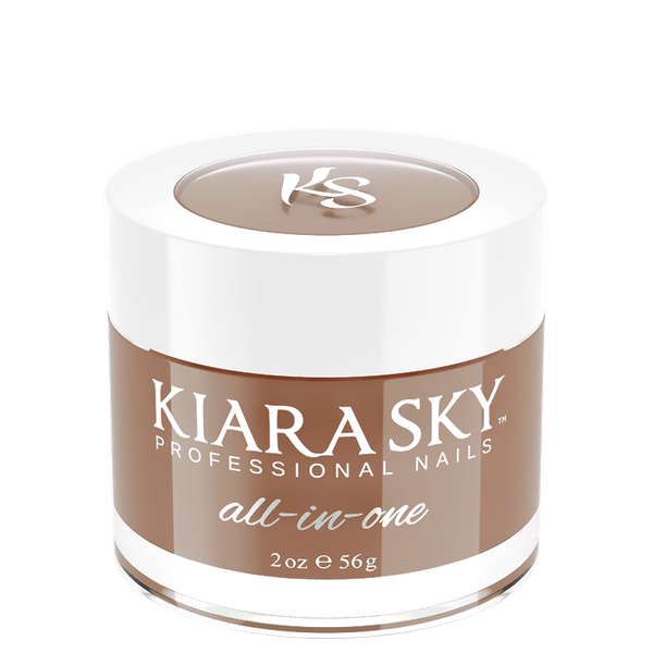 Kiara Sky All In One Acrylic Nail Powder - D5022 BROWNIE POINTS D5022