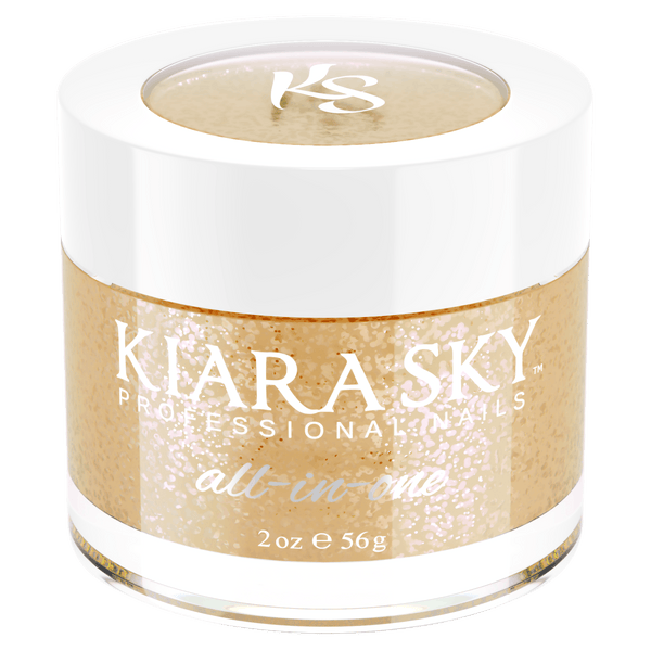 Kiara Sky All In One Acrylic Nail Powder - D5025 CHAMPAGNE TOAST D5025