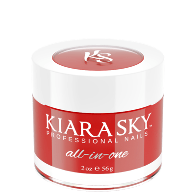 Kiara Sky All In One Acrylic Nail Powder - D5033 REDCKLESS D5033