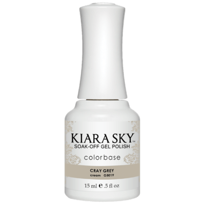 Kiara Sky All In One Gel Nail Polish - G5019 CRAY GREY G5019