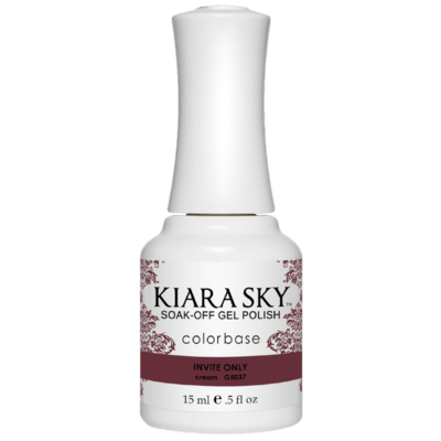 Kiara Sky All In One Gel Nail Polish - G5037 INVITE ONLY G5037